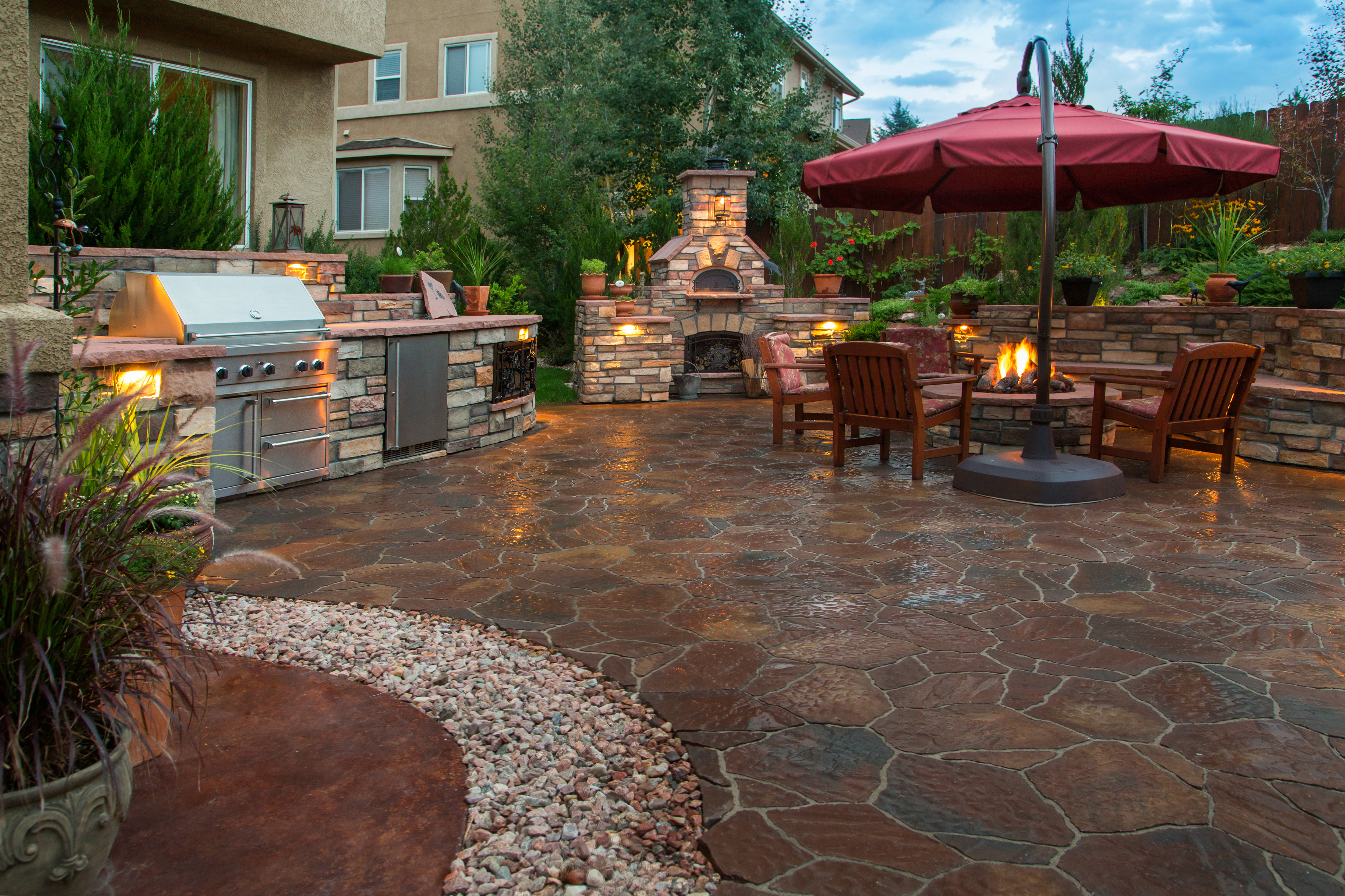 Garden Patio Design Ideas Lovetoknow
