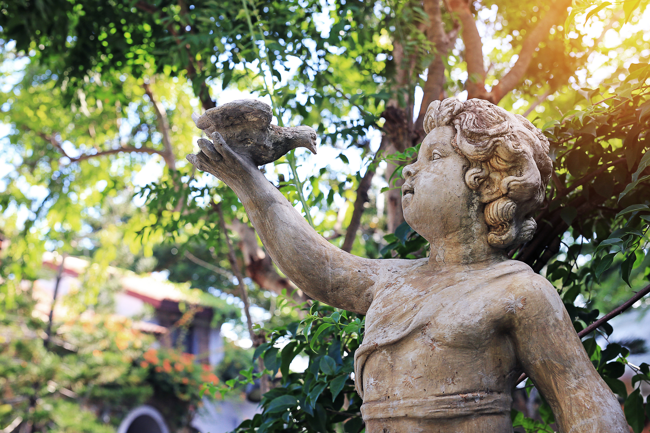 Choose The Perfect Garden Statues For Your Outdoor Oasis Lovetoknow