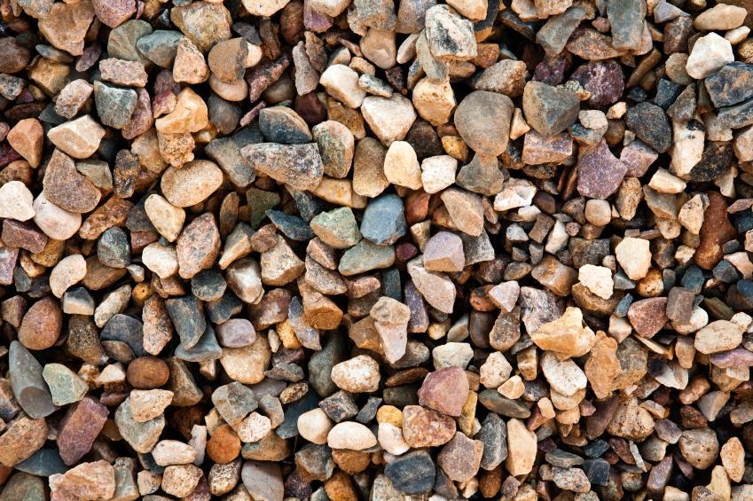 Small Multi Colored Gravel
