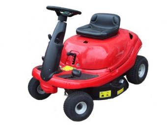 Isolated Riding Mower