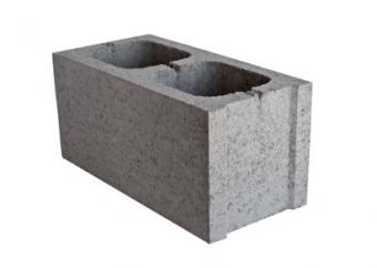 Cinder blocks are an easy way to build raised beds.