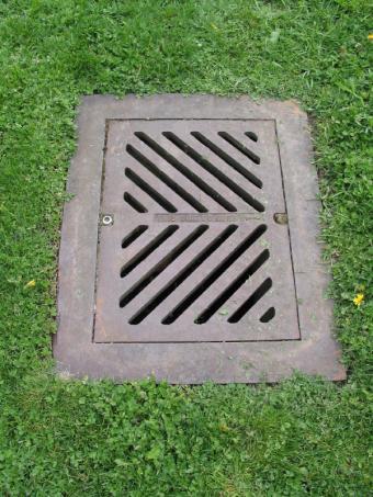 metal drain grate