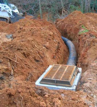 Landscaping drain
