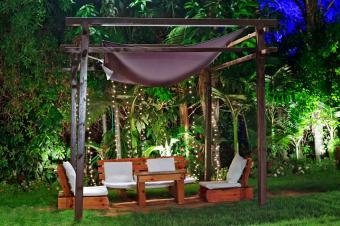 tropical landscape lighting