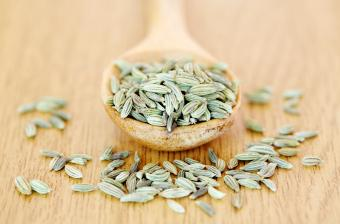 spoonful of fennel seeds