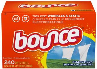 Bounce Dryer Fabric Softener Sheets