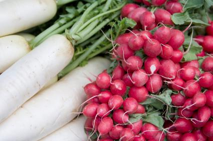 Radishes are good companion plants.