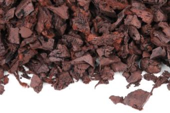 Rubber mulch is durable and earth friendly, but may not be suitable for some plants.