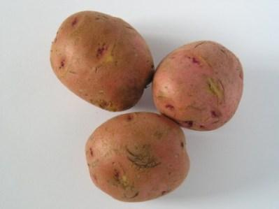 Three Red Potatoes