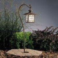 Mission Style Patina Bronze Hanging Lantern