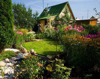 English Country Garden Example