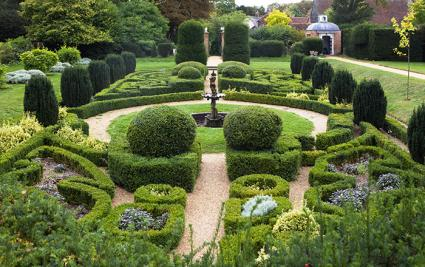 Classic English garden example