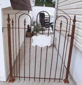 3' Tall Standard Gate with Posts