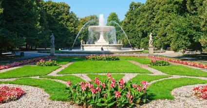Superieur Formal Garden In Poland