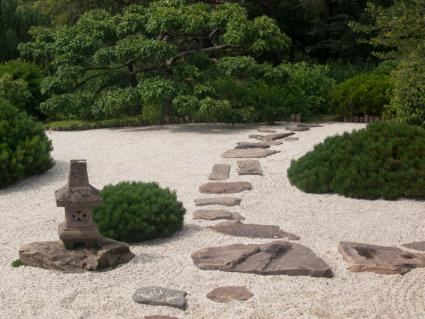 Japanese hardscape design