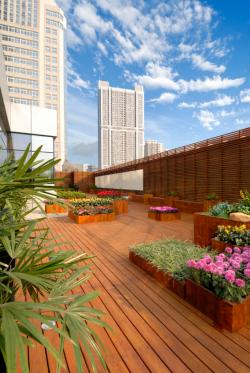 Modern Rooftop Design Garden Patio Source