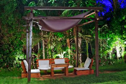 tropical landscape lighting