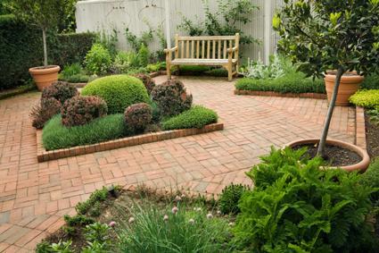 urban small garden