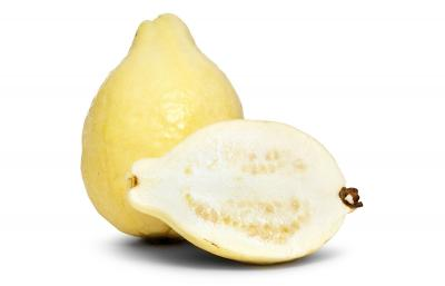 Example of white fleshed guava fruit