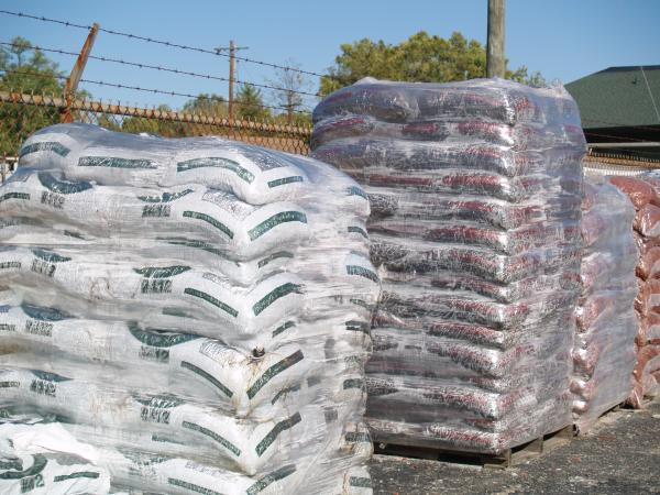 Bags of Mulch