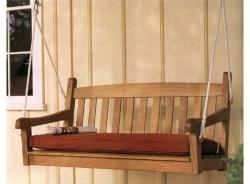 Teak Wood Porch Garden Swing