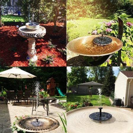 Ankway Solar Bird Bath Fountain Pump