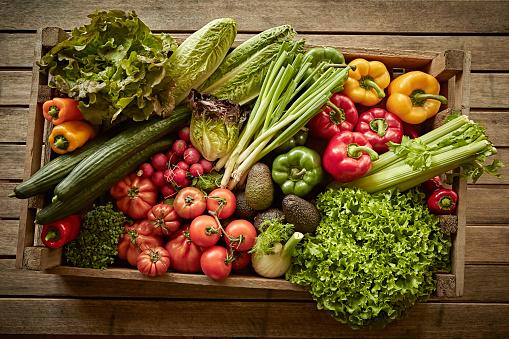 fresh, organic, healthy vegetables