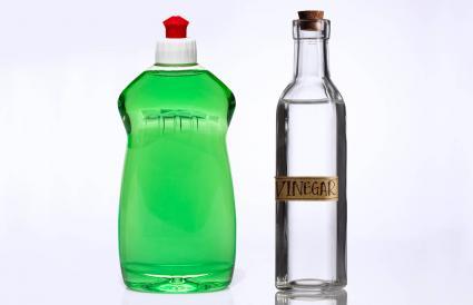 Vinegar and Dish Soap Mixture