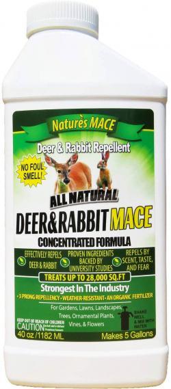 Nature's Mace Deer and Rabbit Repellent