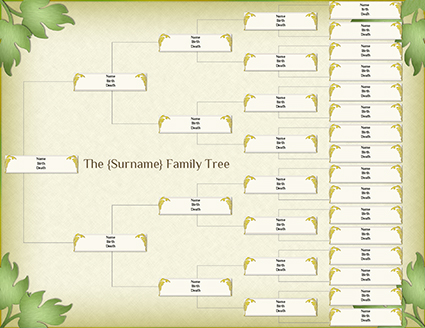 draw a family tree lovetoknow. Black Bedroom Furniture Sets. Home Design Ideas