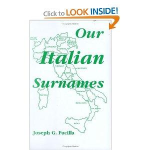 Our Italian Surnames
