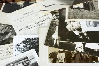 Old Genealogy Family History Photographs and Documents