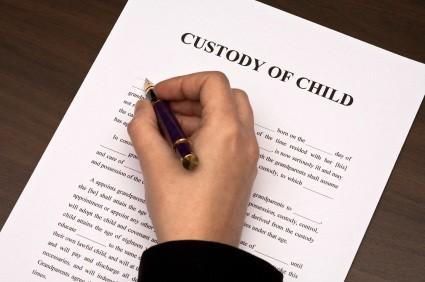 child custody papers