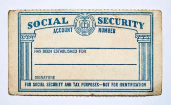 old social security card