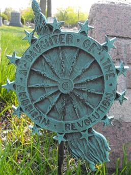 DAR Cemetery Emblem