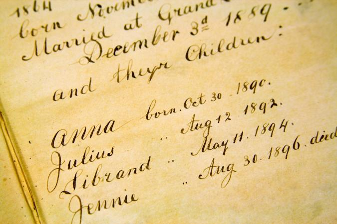 Genealogy records