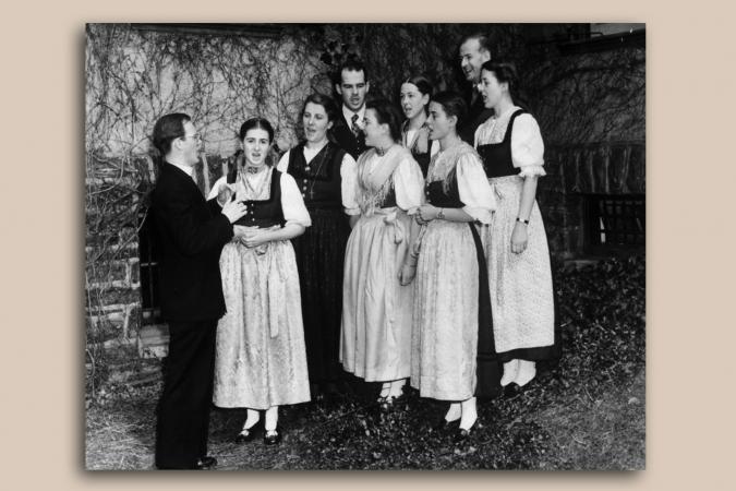 Von Trapp Family Singers 1941