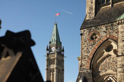 Canadian Parliament Peace Tower