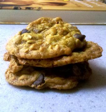 Buckwheat oatmeal cookies