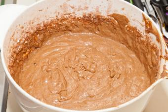 Gingerbread batter