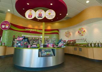 Menchies Frozen Yogurt Shop