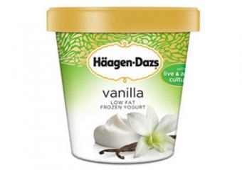 Haagen Dazs Frozen Vanilla Yogurt