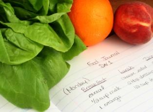 Food Diary for Intolerances
