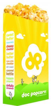 Doc Popcorn Logo Product