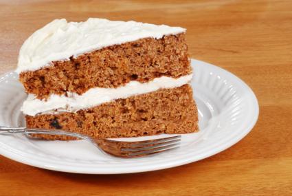 Apple spice cake