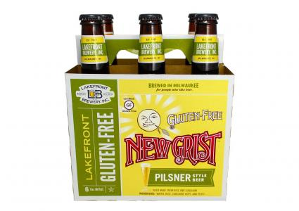 New Grist Gluten-Free Beer  by Lakefront Brewery