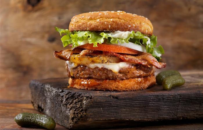 100% Gluten Free Hamburger