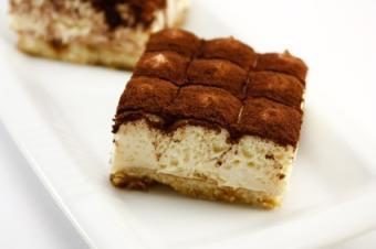 Tiramisu is a popular dessert made with Mascarpone cheese