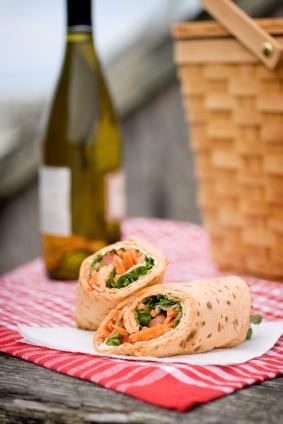 Enjoy a Picnic with Wrap Sandwiches