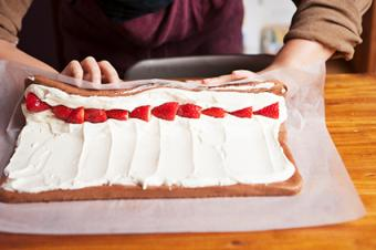 Rolling Sweet Roulade